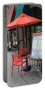 Flemington, Nj - Sidewalk Cafe Portable Battery Charger