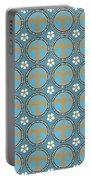 Fleur De Lis Pattern No. 2 Portable Battery Charger