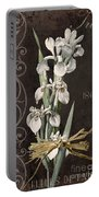 Fleurs De Paris II Portable Battery Charger