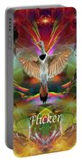 Flicker Moon Portable Battery Charger