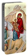 Flight Into Egypt Painting At Shepherds Field Portable Battery Charger
