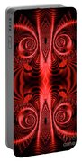 Flight Of Fancy Red Portable Battery Charger