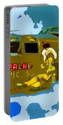 Flight Of The Apache Princess Portable Battery Charger