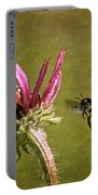Flight Of The Mason Bee Portable Battery Charger