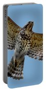 Flight Of The Red Shouldered Hawk Portable Battery Charger
