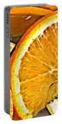 Floating Citrus Portable Battery Charger