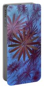 Floating Floral - 001 Portable Battery Charger