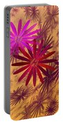 Floating Floral - 005 Portable Battery Charger
