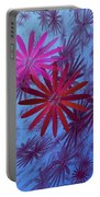 Floating Floral -003 Portable Battery Charger
