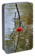 Floating Flower Portable Battery Charger
