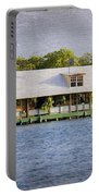 Floating House In La Parguera Puerto Rico Portable Battery Charger