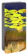 Floating Lily Pond Portable Battery Charger