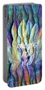 Floating Lotus - Praying For You Portable Battery Charger