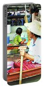 Floating Market Thailand Portable Battery Charger