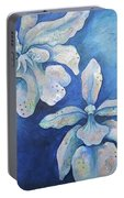 Floating Orchid Portable Battery Charger