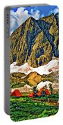 Floe Lake Painted Portable Battery Charger