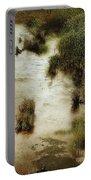 Flood Tide In The Salt Marsh Portable Battery Charger