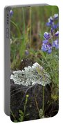 Flora On The Plateau Portable Battery Charger
