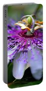 Flora Passiflora Portable Battery Charger