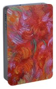Floral Abstract, Sunshine Bouquet Portable Battery Charger