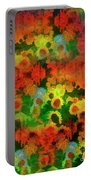 Floral Abundance Portable Battery Charger