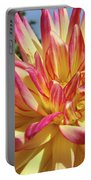 Floral Art Prints Bright Dahlia Flower Canvas Baslee Troutman  Portable Battery Charger