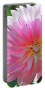Floral Art Prints Pink Dahlias Sunlit Baslee Troutman Portable Battery Charger