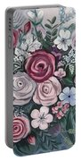 Floral Boom Portable Battery Charger
