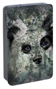 Floral Border Collie Portable Battery Charger