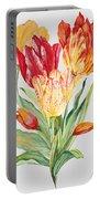 Floral Botanicals-jp3789 Portable Battery Charger