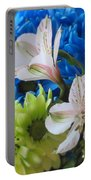 Floral Bouquet 1 Portable Battery Charger