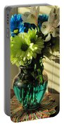 Floral Bouquet 3 Portable Battery Charger