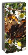 Floral Buckeye Portable Battery Charger