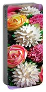 Floral Buffet Portable Battery Charger