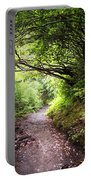 Floral Confetti On The Trail Portable Battery Charger
