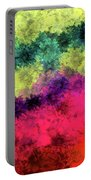 Floral Decay Portable Battery Charger
