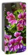 Floral Design 5 Dark Portable Battery Charger