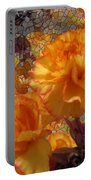 Floral Explosion Portable Battery Charger