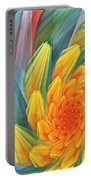 Floral Expressions 1 Portable Battery Charger