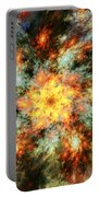 Floral Fantasy 072010 Portable Battery Charger