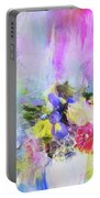 Floral Fantasy Portable Battery Charger