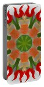 Floral Flare Portable Battery Charger