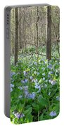 Floral Forest Floor Portable Battery Charger