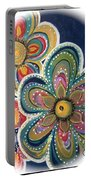 Floral Fun Portable Battery Charger