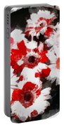 Floral Hotty Totty Portable Battery Charger