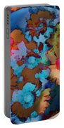 Floral Hotty Totty Differs Portable Battery Charger