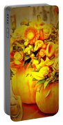 Floral In Ambiance Portable Battery Charger