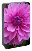 Floral In Pink Portable Battery Charger
