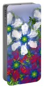 Floral Madness 2 Portable Battery Charger