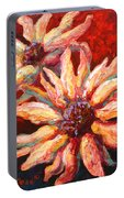 Floral Mini Portable Battery Charger